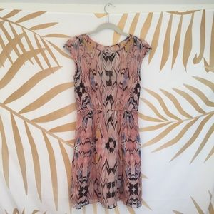 J.Crew Patterned Summer Dress